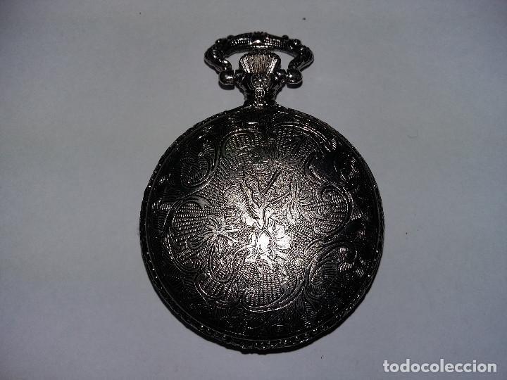 Relojes de bolsillo: RELOR BOLSILLO PLATEADO 5 CM - Foto 2 - 68504921