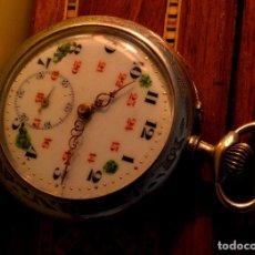 Relojes de bolsillo: BONITO RELOJ DE BOLSILLO, DEPOSE ARGENTAN. Lote 68888945