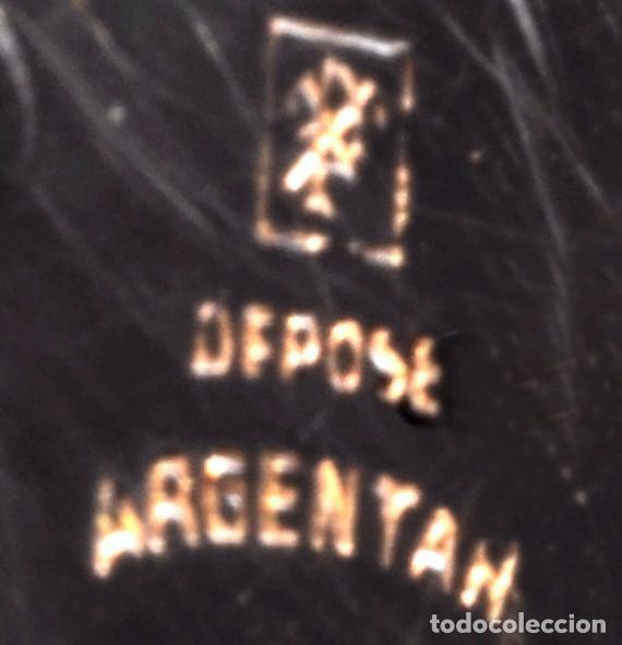Relojes de bolsillo: BONITO RELOJ DE BOLSILLO, DEPOSE ARGENTAN - Foto 4 - 68888945