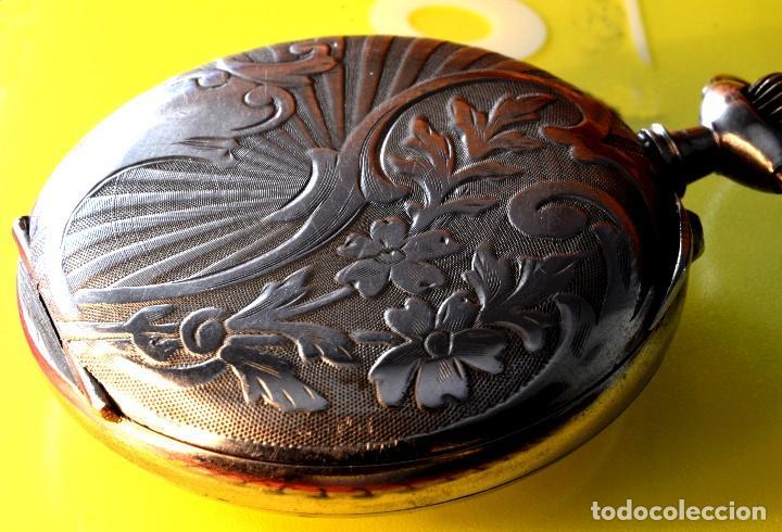 Relojes de bolsillo: BONITO RELOJ DE BOLSILLO, DEPOSE ARGENTAN - Foto 5 - 68888945