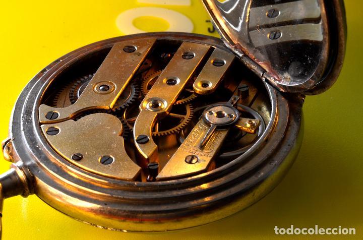 Relojes de bolsillo: BONITO RELOJ DE BOLSILLO, DEPOSE ARGENTAN - Foto 6 - 68888945