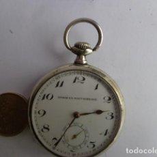 Relojes de bolsillo: MUY ANTIGUO (PRINCIPIOS 1900 ) E IMPORTANTE RELOJ BOLSILLO A CUERDA, COMPLETO Y FUNCIONANDO. Lote 69045593