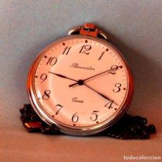 Relojes de bolsillo: RELOJ DE BOLSILLO THERMIDOR QUARZ. Lote 69435193