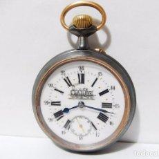 Relojes de bolsillo: RELOJ DE BOLSILLO DE FERROVIARIO REGULATEUR. Lote 69435297