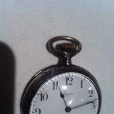 Relojes de bolsillo: MAGNÍFICO RELOJ DE BOLSILLO EN PLATA CYRUS FUNCIONANDO. Lote 70116802