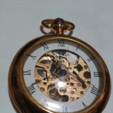 Relojes de bolsillo: RELOJ DE BOLSILLO A CUERDA FUNCIONANDO. Lote 70586189