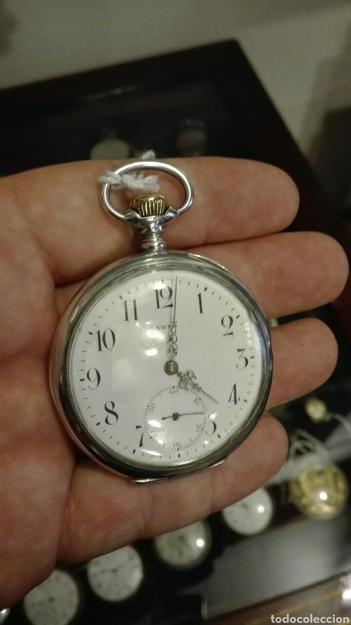 Relojes de bolsillo: Reloj de Bolsillo Veto - Plata - - Foto 2 - 71528566