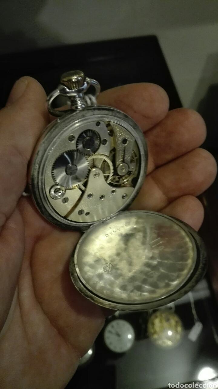 Relojes de bolsillo: Reloj de Bolsillo Veto - Plata - - Foto 7 - 71528566