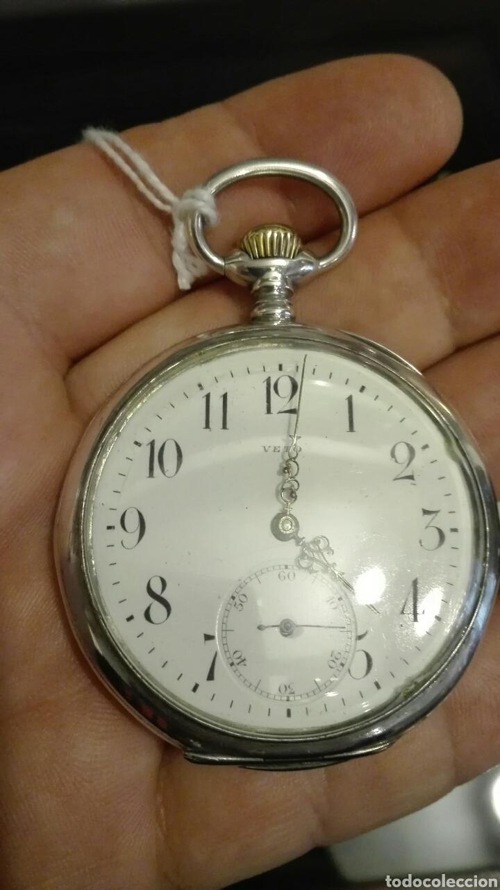 Relojes de bolsillo: Reloj de Bolsillo Veto - Plata - - Foto 11 - 71528566