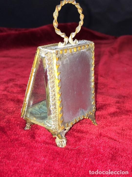 Relojes de bolsillo: URNA EXPOSITORA PARA RELOJ DE BOLSILLO. NAPOLEÓN III. FRANCIA CIRCA 1850 - Foto 5 - 71536823