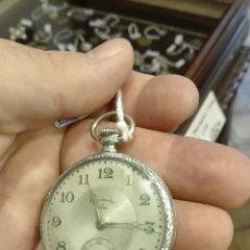 Relojes de bolsillo: RELOJ DE BOLSILLO TITAN PLATA. Lote 71560557
