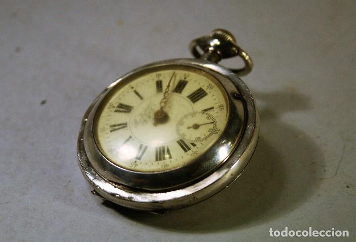 RELOJ BOLSILLO LA PERFECTION. NO FUNCIONA. PARA REPARAR O PIEZAS. (Relojes - Bolsillo Carga Manual)
