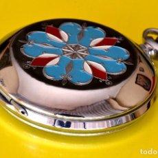 Relojes de bolsillo: MAGNÍFICO RELOJ DE BOLSILLO VINTAGE YVES RENOID, CUERDA. Lote 73978030