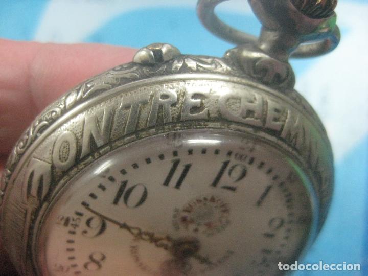 Relojes de bolsillo: TREMENDO RELOJ DE FERROVIARIO W.ROSSKOPF CHEMIN DE FER,TIRADA LIMITADA,Nº403 EXP UNIV PARIS,FUNCIONA - Foto 11 - 71833427