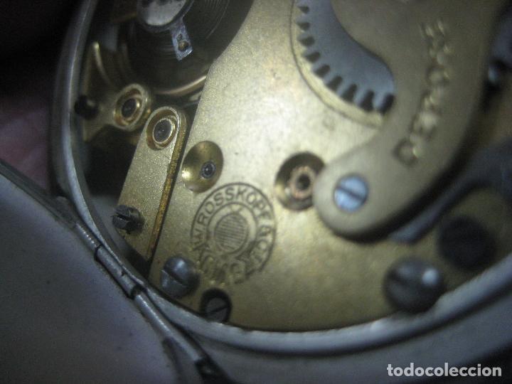 Relojes de bolsillo: TREMENDO RELOJ DE FERROVIARIO W.ROSSKOPF CHEMIN DE FER,TIRADA LIMITADA,Nº403 EXP UNIV PARIS,FUNCIONA - Foto 17 - 71833427