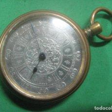 Relojes de bolsillo: ESPECIMEN UNICO DE RELOJ DE BOLSILLO CON ESFERA DE PLATA Y CUERDA A LLAVE SIN ABRIR EL RELOJ, 1860. Lote 71935935
