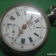 Relojes de bolsillo: TREMENDO RELOJ DE BOLSILLO ROSKOPF MARCA F.BACHSCHMID, DATA DE 1910, 53 MM, FUNCIONANDO, PAT 27553. Lote 72134447