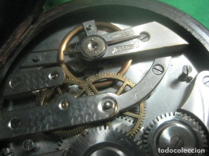 Relojes de bolsillo: TREMENDO FERROVIARIO GOLIATH RELOJ DE BOLSILLO SUIZO, DATA DE 1900, FUNCIONANDO, 66 MM SIN CORONA - Foto 7 - 72252299