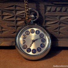 Relojes de bolsillo: RELOJ DE BOLSILLO THERMIDOR, CUERDA, 17 RUBIS. Lote 73447383
