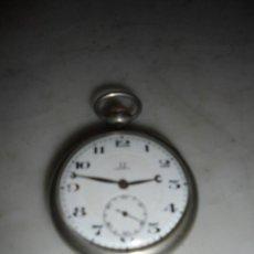 Relojes de bolsillo: ANTIGUO RELOJ - OMEGA ESFERA DE PORCELA - ESTADO DE MARCHA . ESFERA , CAJA Y MAQUINA MARCADAS . 7X5 . Lote 75228803