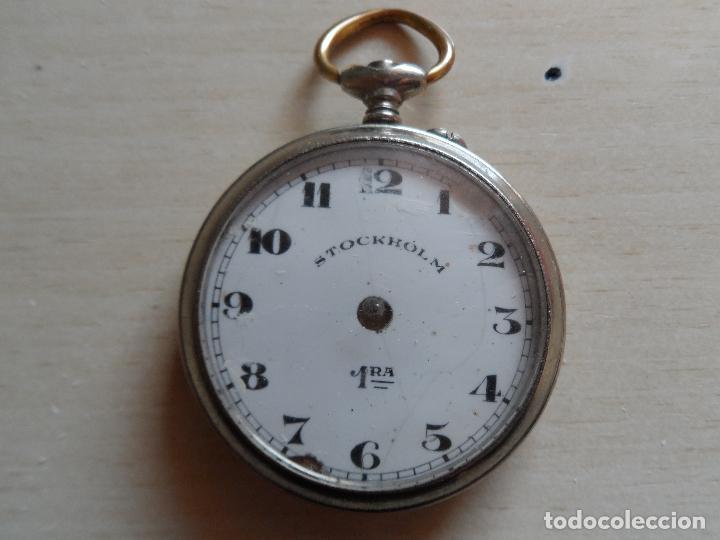 RELOJ DE BOLSILLO PRINCIPIOS SIGLO XX PARA PIEZAS - RECAMBIOS RELOJ - STOCKHOLM 1RA (Relojes - Bolsillo Carga Manual)