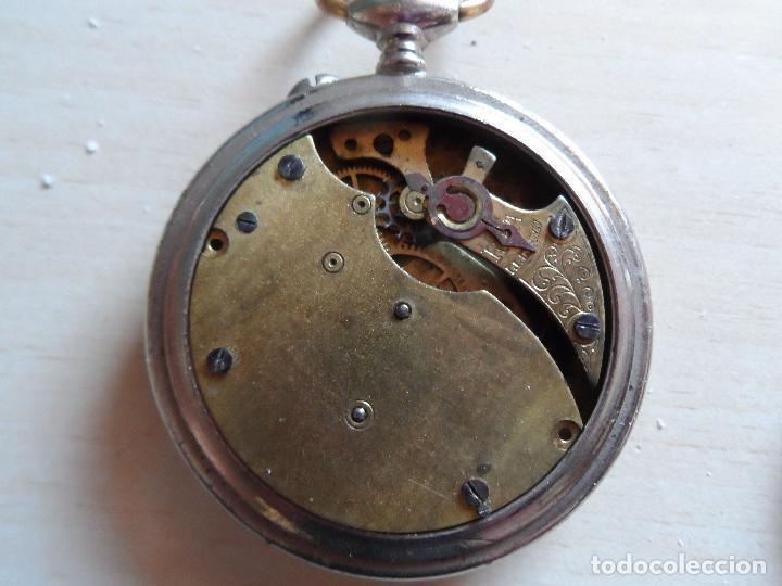 Relojes de bolsillo: reloj de bolsillo principios siglo XX para piezas - recambios reloj - stockholm 1ra - Foto 2 - 75301335