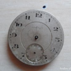 Relojes de bolsillo: RELOJ DE BOLSILLO PRINCIPIOS SIGLO XX PARA PIEZAS - RECAMBIOS RELOJ - MAQUINARIA - ONENA. Lote 75305791