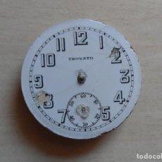 Relojes de bolsillo: RELOJ DE BOLSILLO PRINCIPIOS SIGLO XX PARA PIEZAS - RECAMBIOS RELOJ - MAQUINARIA - TROVATO. Lote 75305899