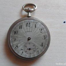 Relojes de bolsillo: RELOJ DE BOLSILLO PRINCIPIOS SIGLO XX PARA PIEZAS - RECAMBIOS RELOJ - MAQUINARIA - LIVADIA. Lote 75306247
