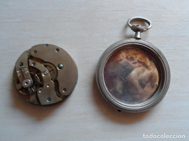 Relojes de bolsillo: reloj de bolsillo principios siglo XX para piezas - recambios reloj - maquinaria - livadia - Foto 2 - 75306247