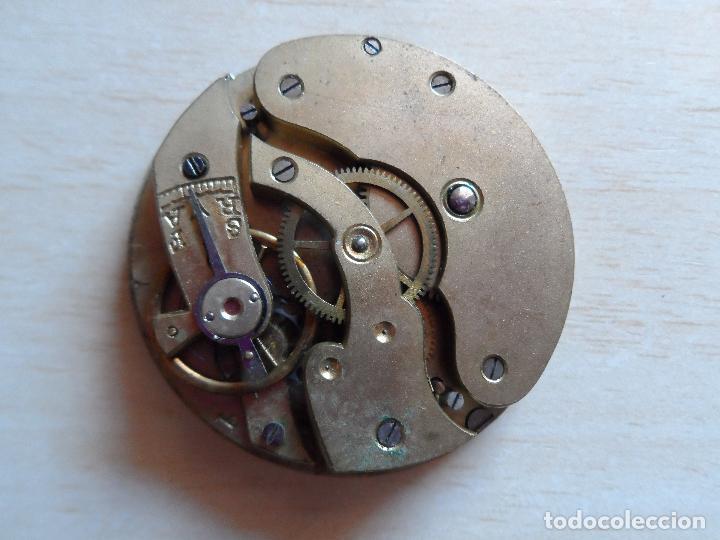 Relojes de bolsillo: reloj de bolsillo principios siglo XX para piezas - recambios reloj - maquinaria - livadia - Foto 3 - 75306247