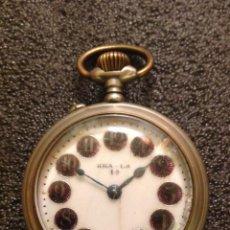 Relojes de bolsillo: RELOJ DE BOLSILLO KHA-LA DE TIPO ROSKOPF.. Lote 75494159