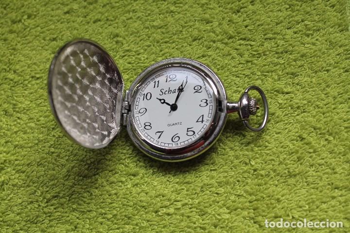 RELOJ DE BOLSILLO -MARCA SCHARZ-VINTAGE (Relojes - Bolsillo Carga Manual)