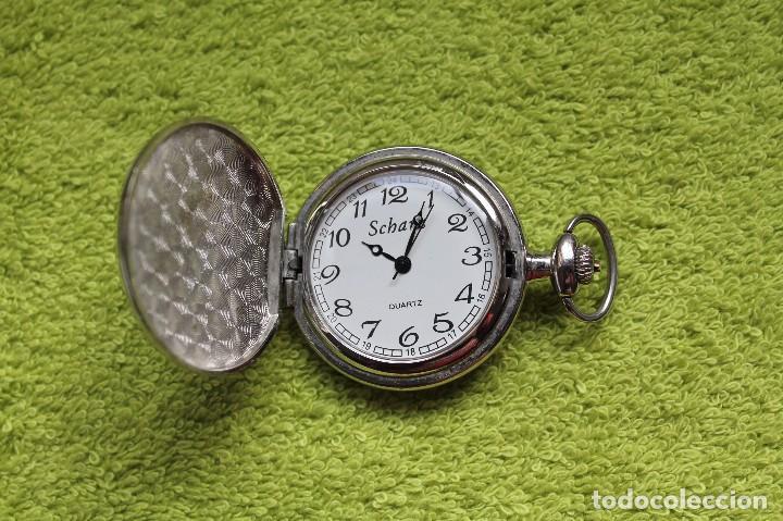 Relojes de bolsillo: RELOJ DE BOLSILLO -marca Scharz-Vintage - Foto 3 - 75551607