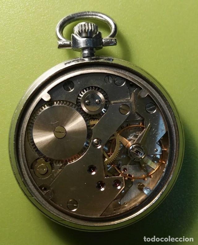 Relojes de bolsillo: Reloj de bolsillo Elgé Funciona perfectamente - Foto 3 - 76810827