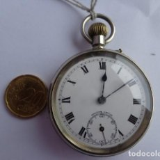 Relojes de bolsillo: MUY ANTIGUO (PRINCIPIOS 1900) E IMPECABLE RELOJ BOLSILLO, GRANDE Y FUNCIONANDO PERFECTO. Lote 76837555
