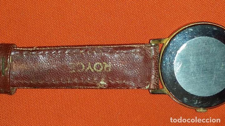 90ce0974f46a Relojes de bolsillo  RELOJ SUIZO ORIGINAL DE CARGA MANUAL O CUERDA BAÑO ORO  MARCA ROYCE
