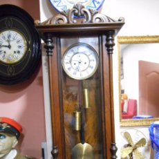 Relojes de bolsillo: ANTIGUO RELOJ DE PARED -WIENER REGULATOR-FUNCIONANDO - CIRCA 1850 -. Lote 77648285