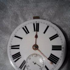 Relojes de bolsillo: MAQUINARIA RELOJ DE LLAVE BRITANICO DE TIPO FUSEE. Lote 78340737