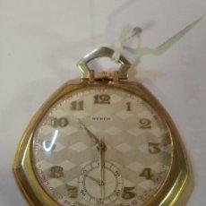 Relojes de bolsillo: PRECIOSO Y ANTIGUO RELOJ DE BOLSILLO FUNCIONANDO BUENA MAQUINA. Lote 79742617