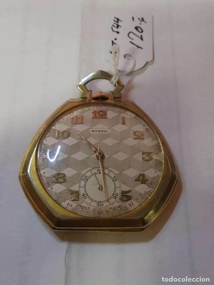 Relojes de bolsillo: PRECIOSO Y ANTIGUO RELOJ DE BOLSILLO FUNCIONANDO BUENA MAQUINA - Foto 2 - 79742617