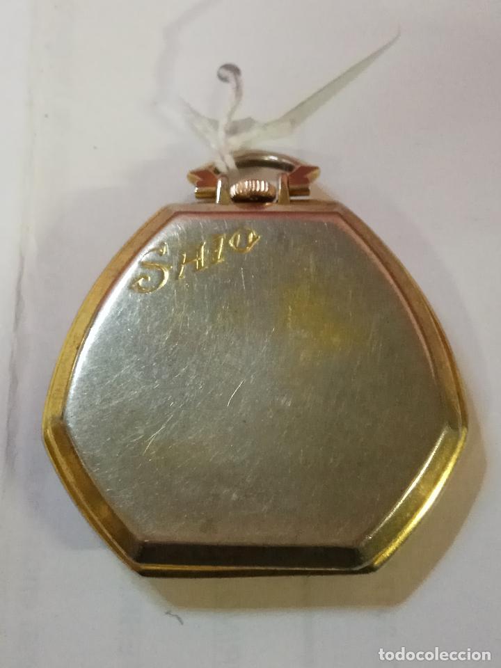 Relojes de bolsillo: PRECIOSO Y ANTIGUO RELOJ DE BOLSILLO FUNCIONANDO BUENA MAQUINA - Foto 3 - 79742617