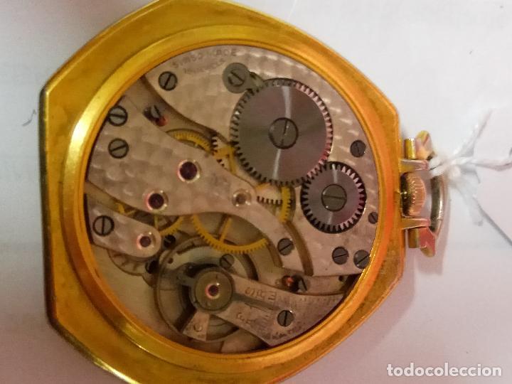 Relojes de bolsillo: PRECIOSO Y ANTIGUO RELOJ DE BOLSILLO FUNCIONANDO BUENA MAQUINA - Foto 4 - 79742617