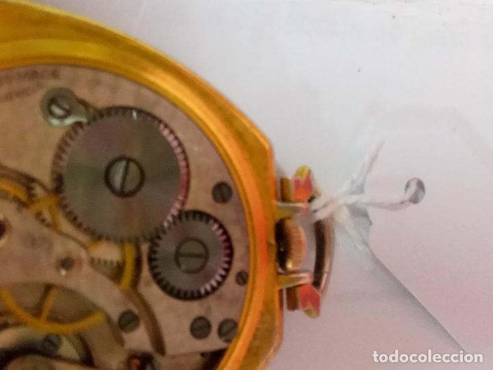 Relojes de bolsillo: PRECIOSO Y ANTIGUO RELOJ DE BOLSILLO FUNCIONANDO BUENA MAQUINA - Foto 5 - 79742617
