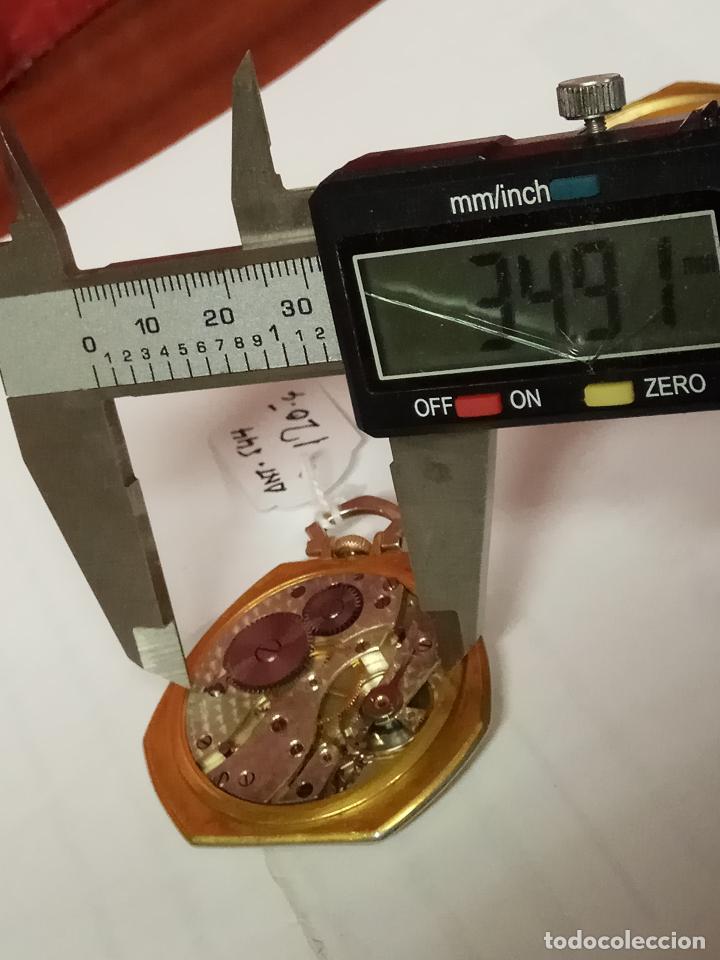 Relojes de bolsillo: PRECIOSO Y ANTIGUO RELOJ DE BOLSILLO FUNCIONANDO BUENA MAQUINA - Foto 8 - 79742617