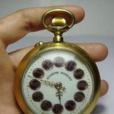 Relojes de bolsillo: RELOJ DE BOLSILLO. CARGA MANUAL. ROSKOPF. BAÑADO EN ORO. FUNCIONA.. Lote 80875755