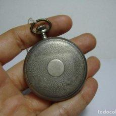 Relojes de bolsillo: RELOJ DE BOLSILLO. CARGA MANUAL. SOLETTA - EXTRA. PLATA CON CONTRASTES.. Lote 80881419