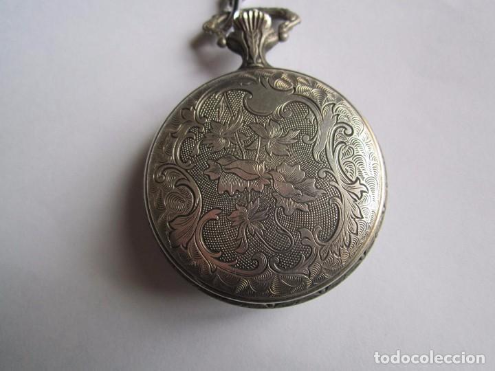 Relojes de bolsillo: RELOJ DE BOLSILLO FUNCIONANDO CAZADOR ZEITEN ANCORA 15 RUBIS MADE IN SUIZA 45MM. - Foto 3 - 81014712