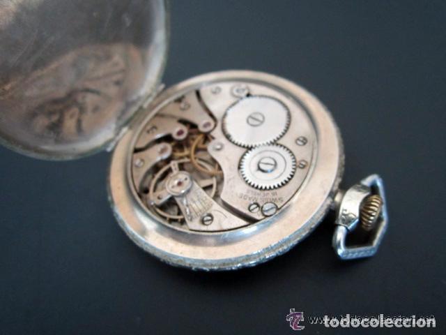 Relojes de bolsillo: RELOJ DE BOLSILLO LANCO. MOVIMIENTO SUIZO. NUMEROS BREGUET. - Foto 5 - 81602332