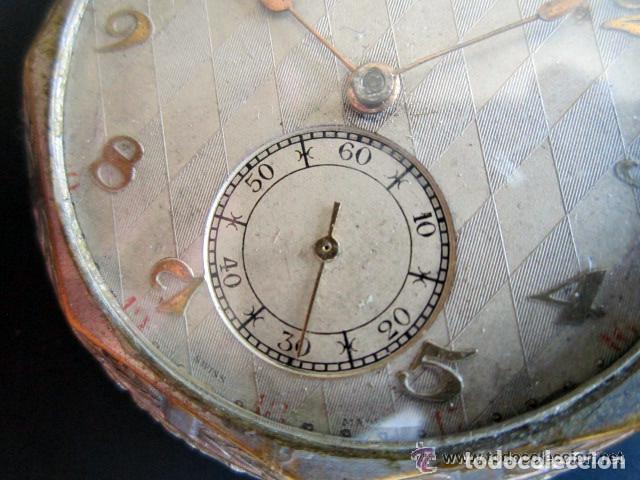 Relojes de bolsillo: RELOJ DE BOLSILLO LANCO. MOVIMIENTO SUIZO. NUMEROS BREGUET. - Foto 6 - 81602332
